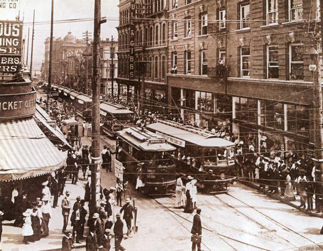 First fleet street cars 1905