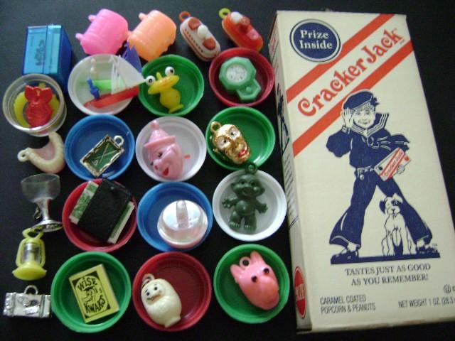 Classic cracker jack prizes history