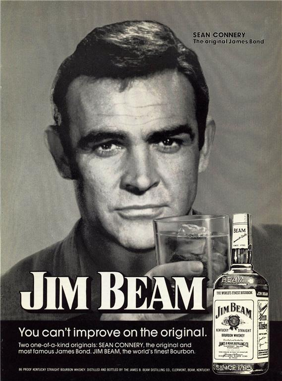 JIM BEAM AND BOND