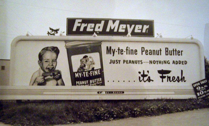 Fred meyer billboard