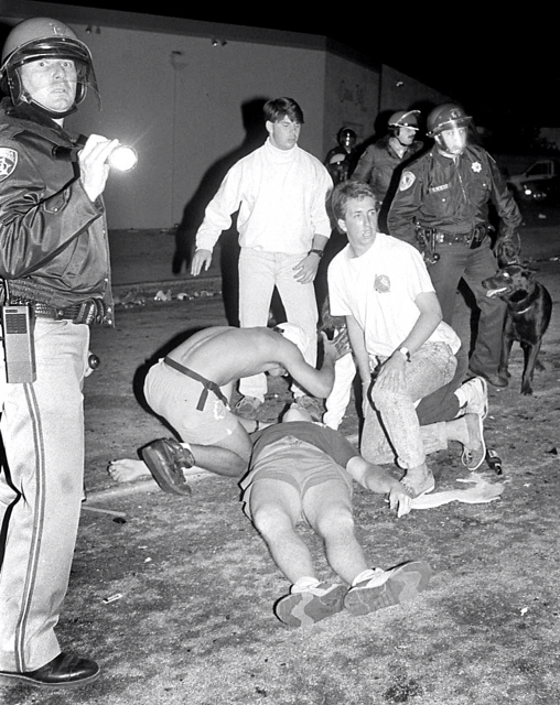 THE SEASIDE RIOTS