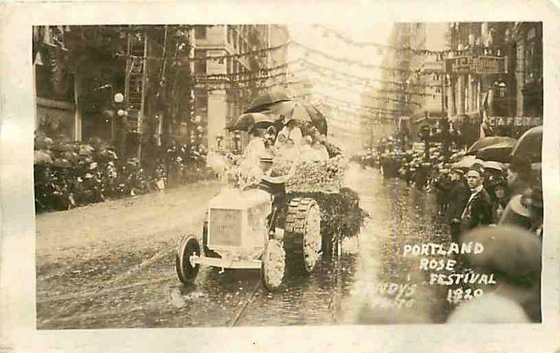 Rose festival rain 1920-2
