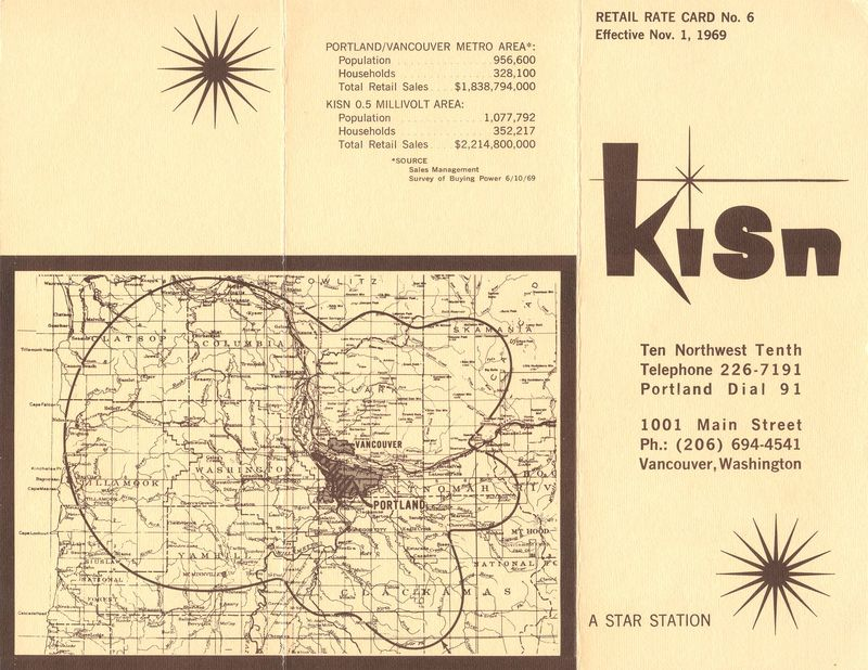 KISN Rate Card Outside