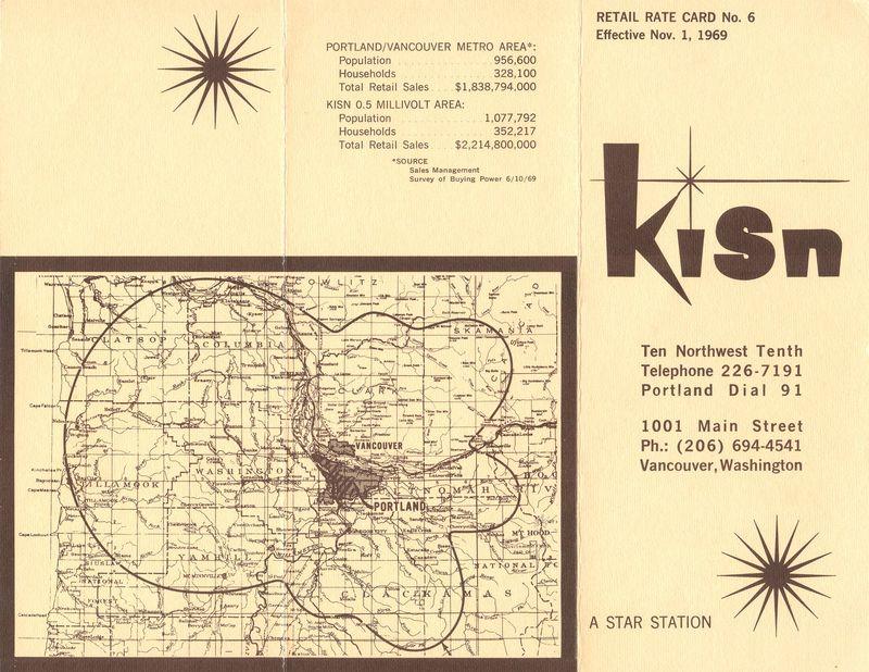 KISN Rate Card Outside