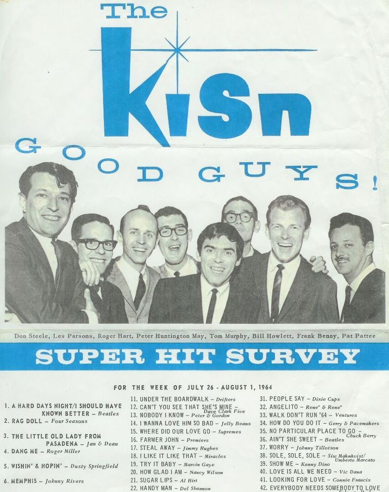 KISN SURVEY BEATLES