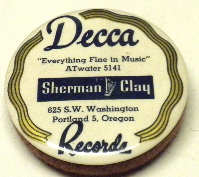 Shermclayrecord cleaner  1930