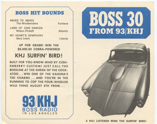Khj surfin bird car