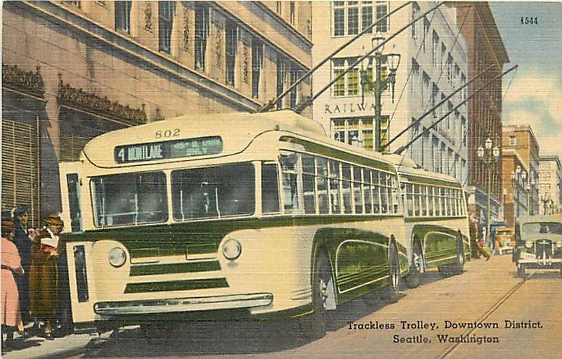 Seattle trolley