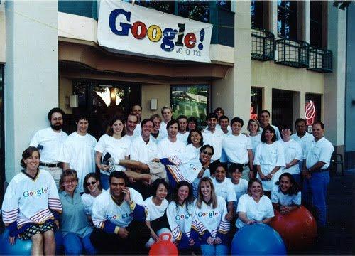 Google staff 1999