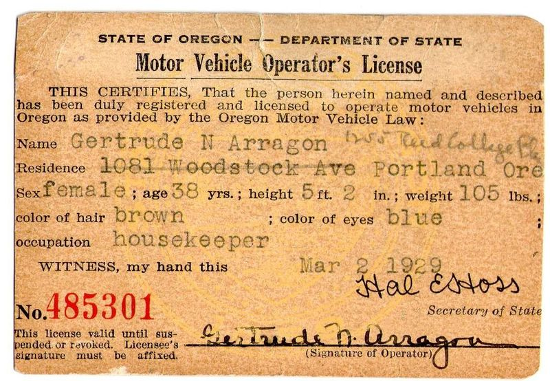 Vintage ore drivers  1929