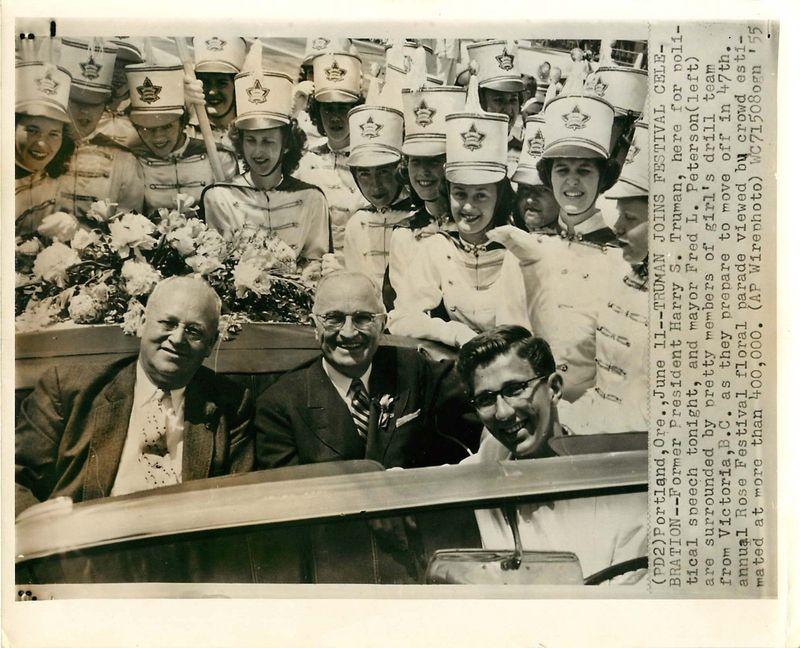 Truman inn portland  (mayor fred peterson