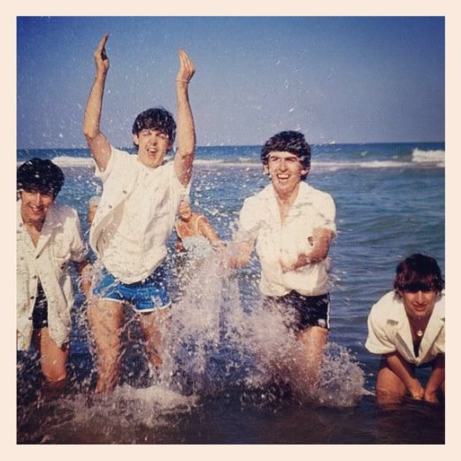 Beatles splish splash