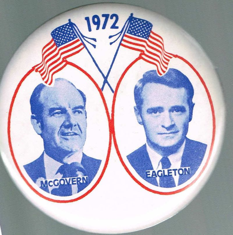POLITICAL BUTTONS MCGOVERN