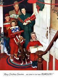 THE HOLIDAYS THROUGH ROCKWELL'S EYES