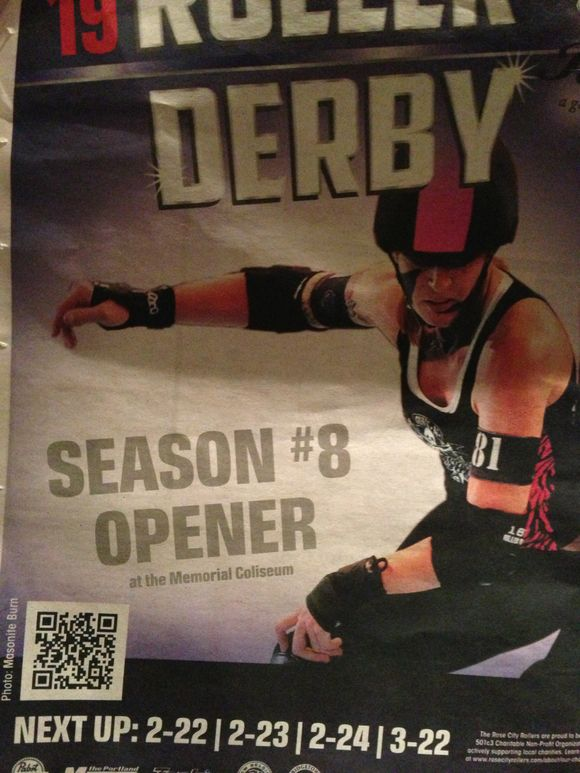 ROLLER DERBY OPENS IN PORTLAND AND FOND MEMORIES COME RUSHING BACK!