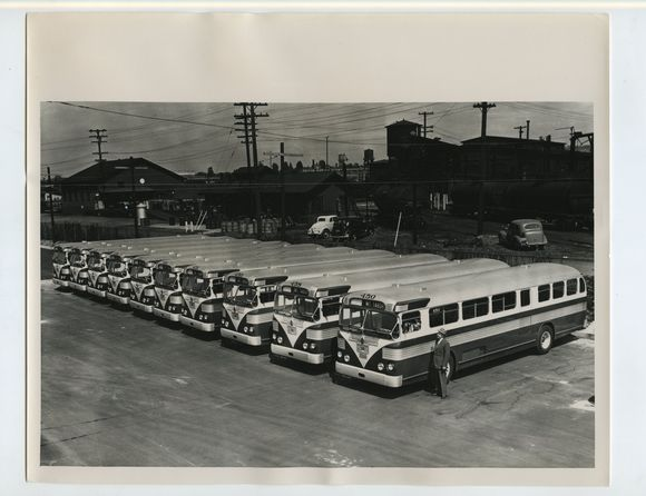 BUS YARD IN STUMPTOWN