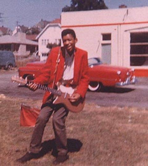 JIMI HENDRIX IN SEATTLE (1950's)