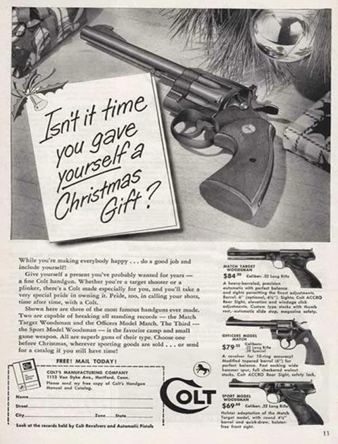 Xmas ad guns