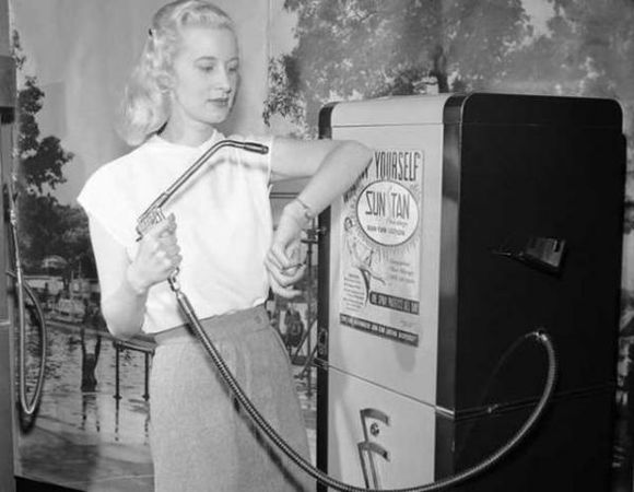 SUNTAN MACHINE IN 1949
