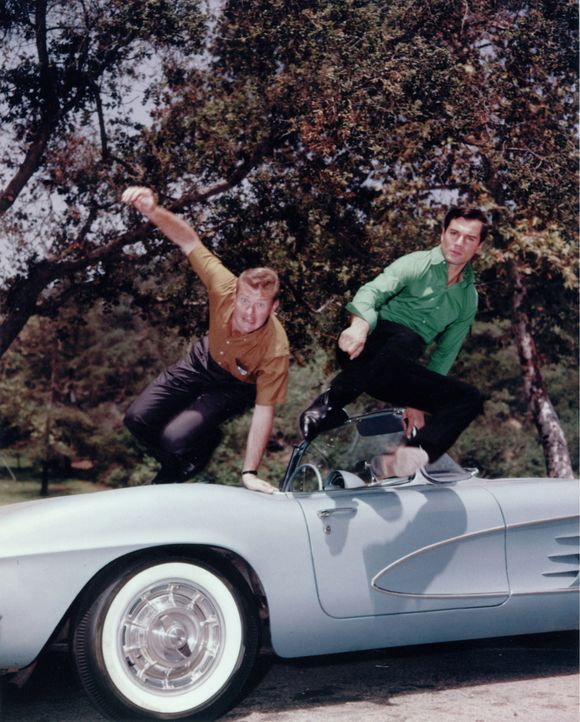 WE NEVER KNEW THE COLOR OF THE ROUTE 66 VETTE