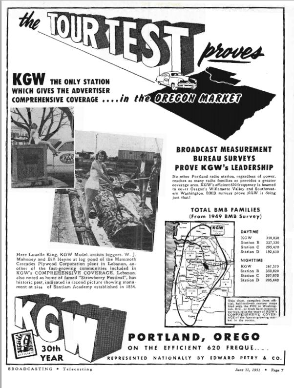 1951 KGW AD
