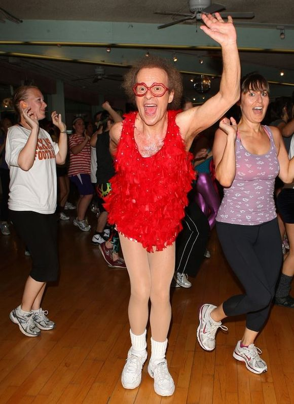 WHAT EVER HAPPENED TO RICHARD SIMMONS? Here ya go!