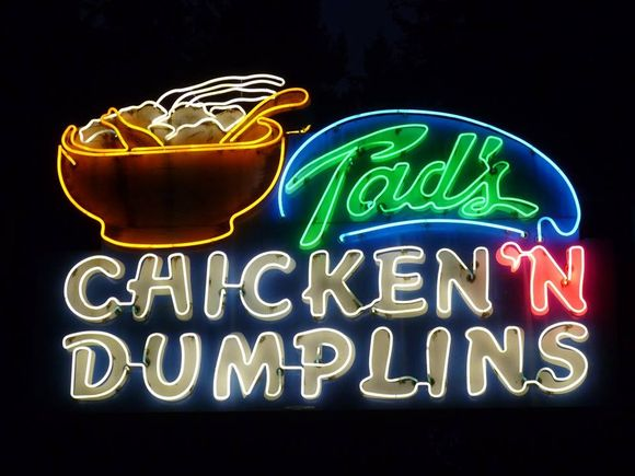 ONE OF THE GREAT NEON SIGNS