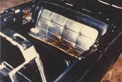JFK-assassination-limo-seat