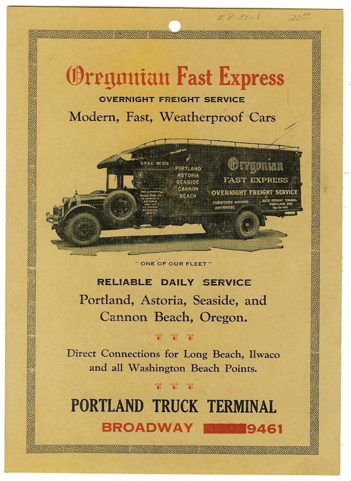 Oregonian express