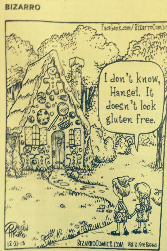 GLUTEN FREE CHUCKLE