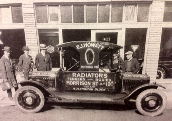 STUMPTOWN BUSINESS IN 1919
