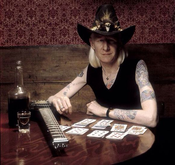 JOHNNY WINTER IS DEAD AT 70