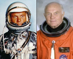 SPACE LEGEND JOHN GLENN ORBITS 93 YEARS TODAY