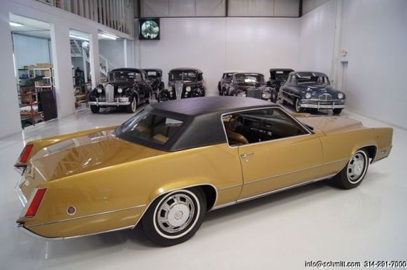 ELVIS PRESLEY'S ELDORADO FOR SALE WITH GUN SHOT AND ALL