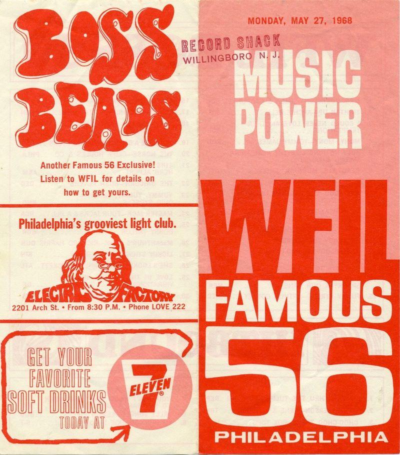 WFIL Philadelphia May 20 1968 Outside