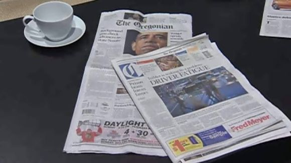 THE TABLOID SIZE OREGONIAN HITS THE STREETS WEDNESDAY