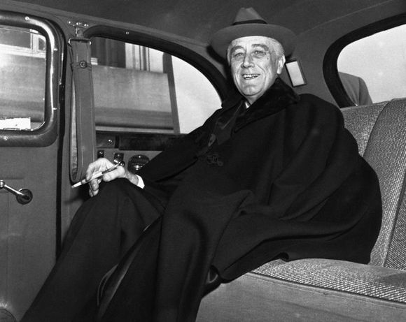 FDR AND HIS GANGSTER RIDE