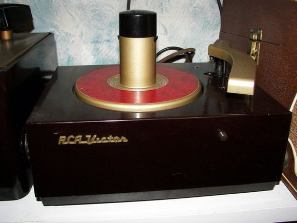 FIRST 45 RPM RECORD PLAYER
