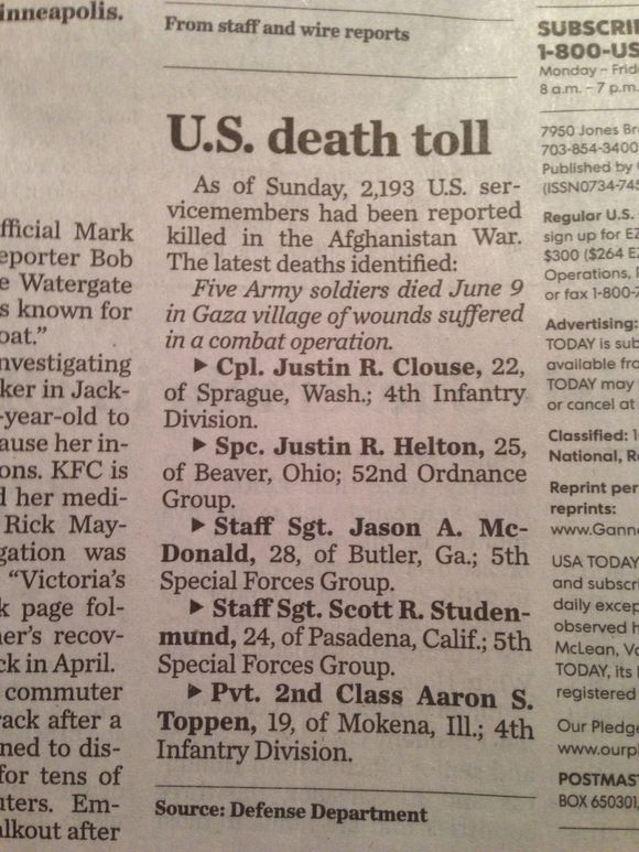 BURIED IN THE BACK OF THE PAPER.....