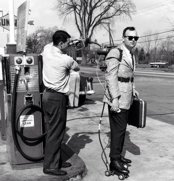 GETTING GASSED UP