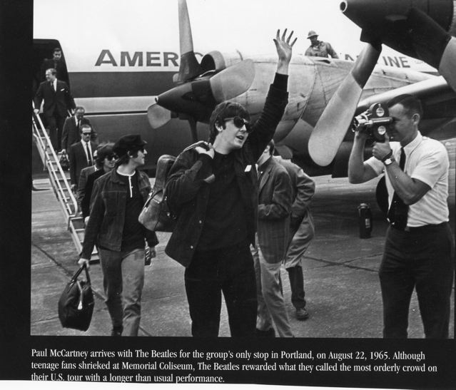 Beatles arrive