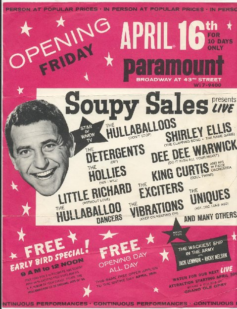 Soupy Sales Easter Show Poster