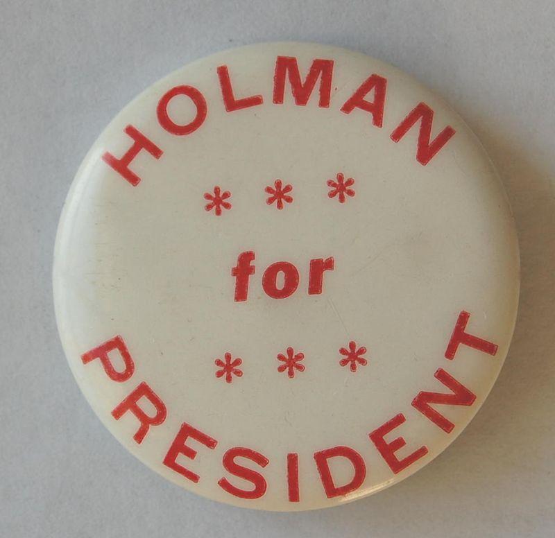 Hol button