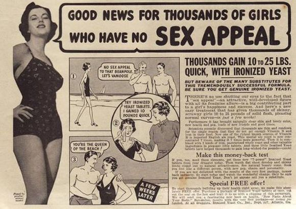 THIS AD RAN FOR YEARS IN COMICS AND MAGAZINES