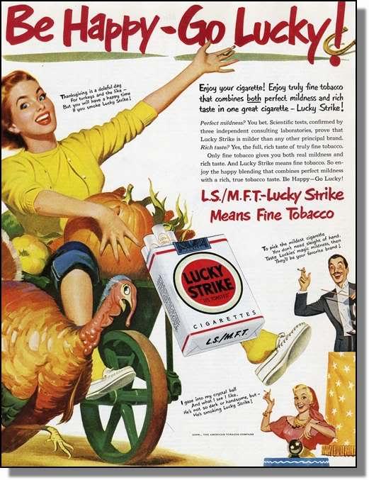 Thanksgiving lucky