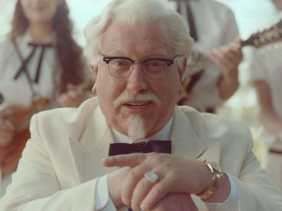F.U KFC ... There's only one Col Sanders