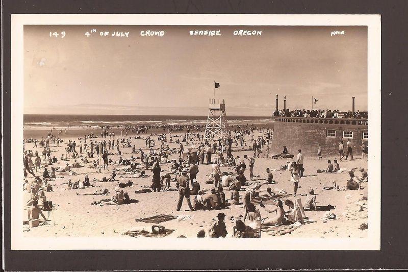 Seaside 4th july 1940's