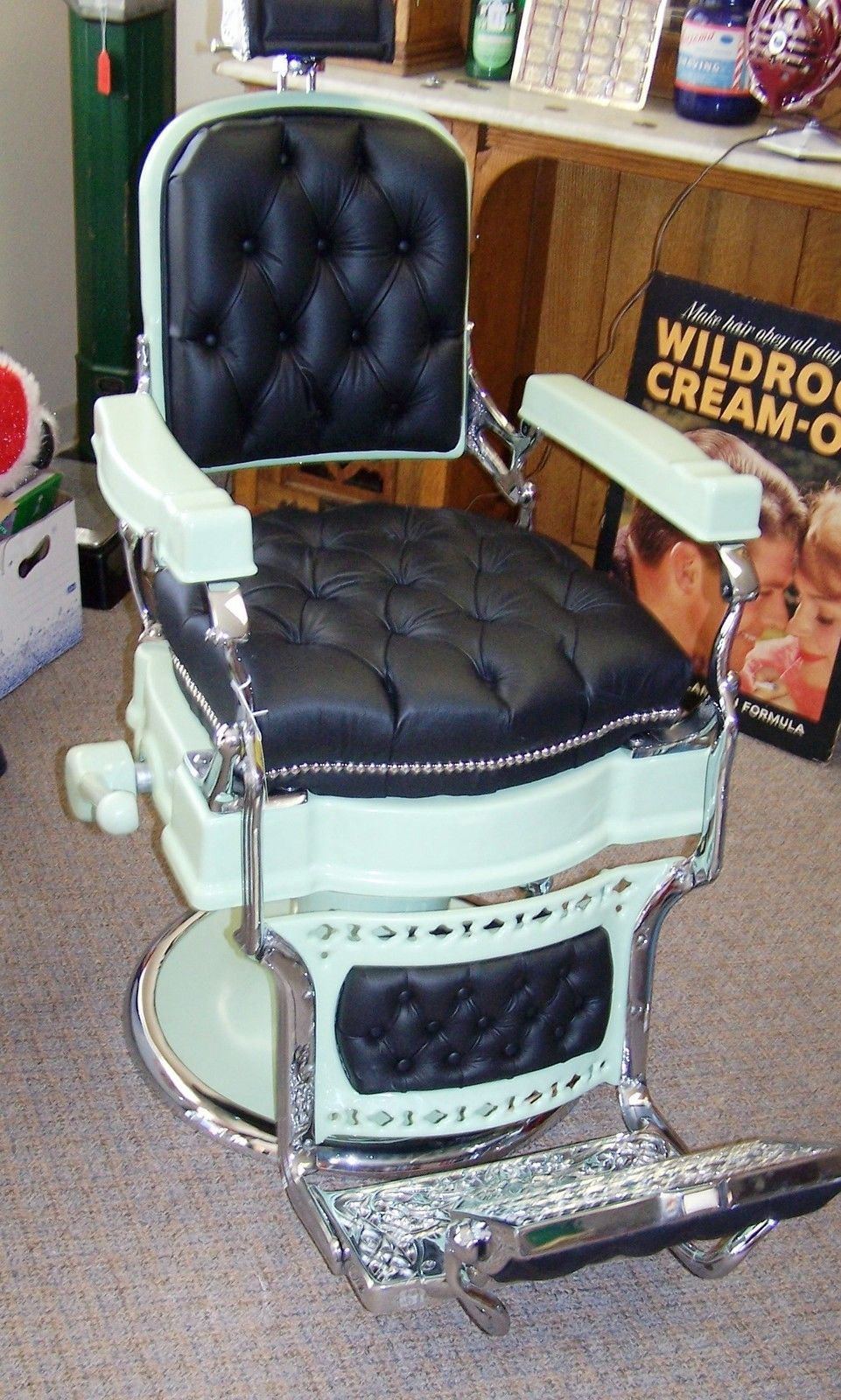 Vintage barber shop chairs - Posted At 10 51 Pm In Barber Chairs Permalink Comments 1