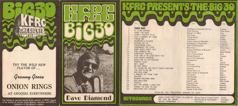 Dave diamond kfrc g