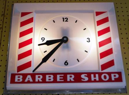 BARBER  CLOCK